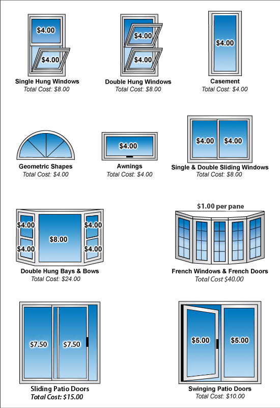 picture window prices upvc pricing for window cleaning