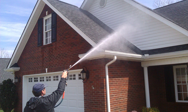 Pressure Washing House Cleaning By Star Brite